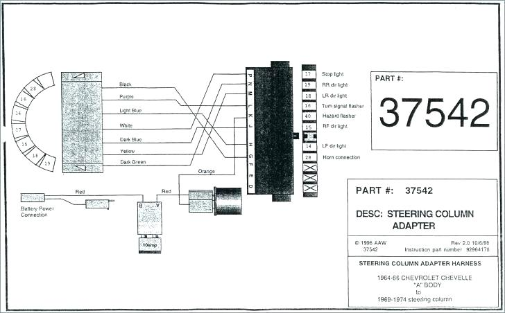 1968 Ford Mustang Steering Column Wiring Diagram