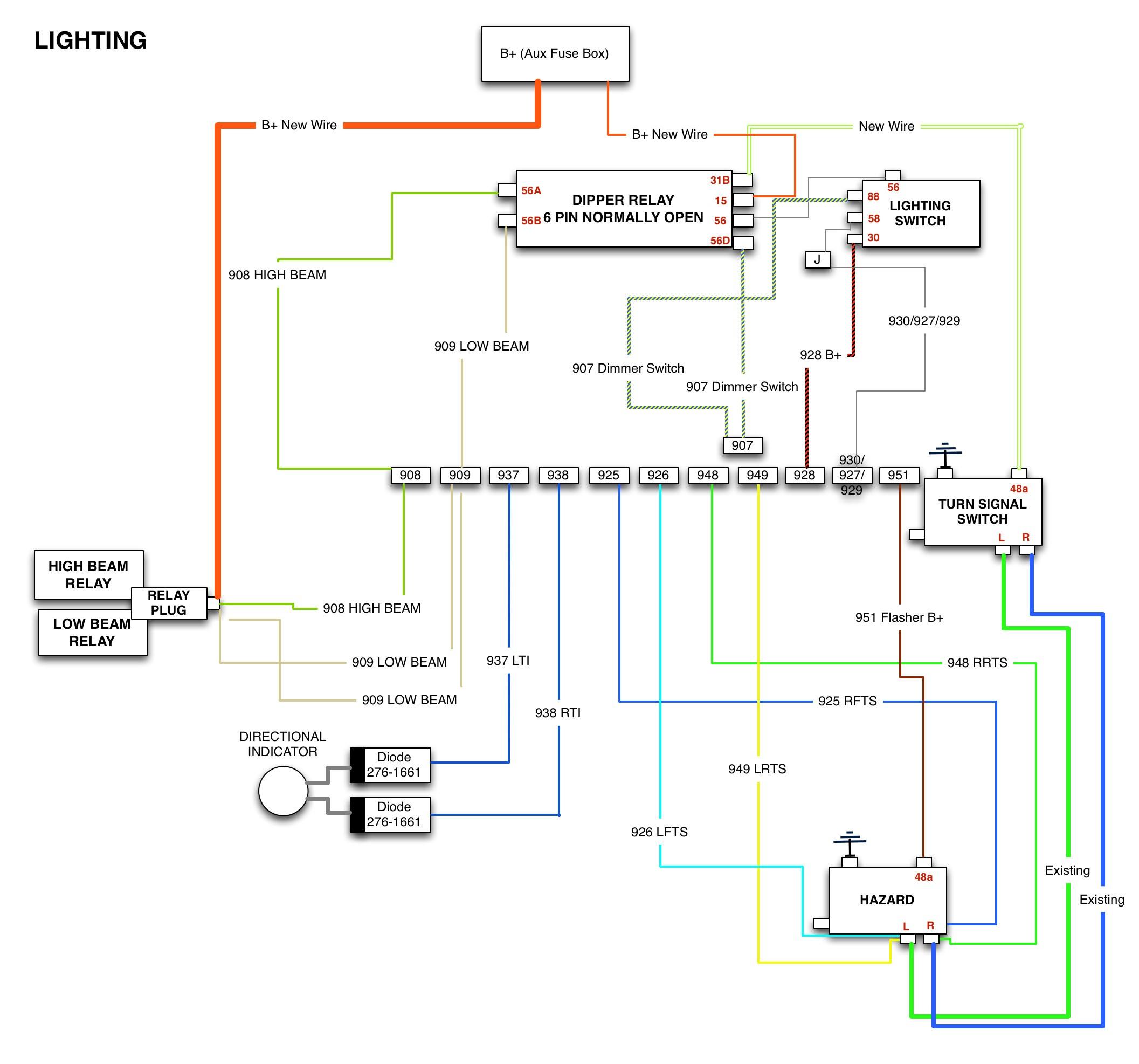 Diagram 4 Point Trailer Wiring Diagram Honda Ridgeline Database