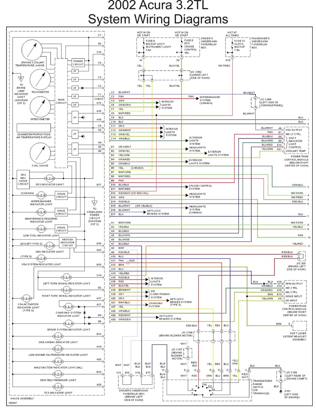Awe Inspiring Acura Stereo Wiring Diagram Wiring Diagram Wiring Cloud Mousmenurrecoveryedborg