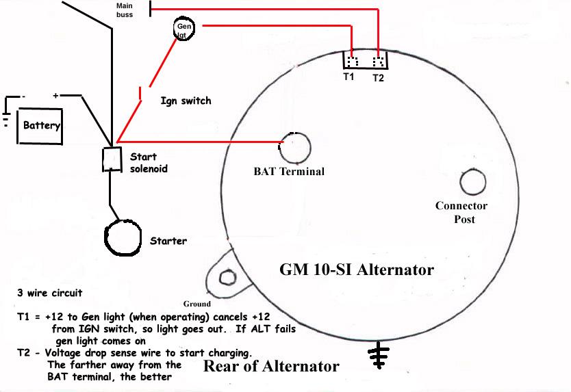 one wire alternator wiring diagram oa 0129  delco alt wiring diagram free download wiring diagram delco remy one wire alternator wiring diagram delco alt wiring diagram free download