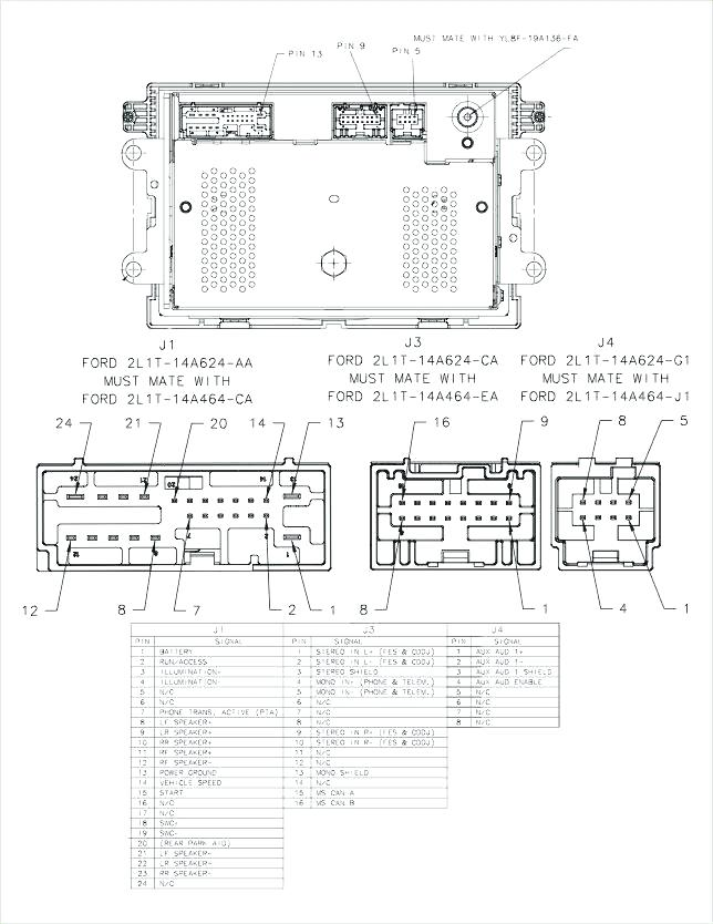 2001 Ford Escape Stereo Wiring Diagram