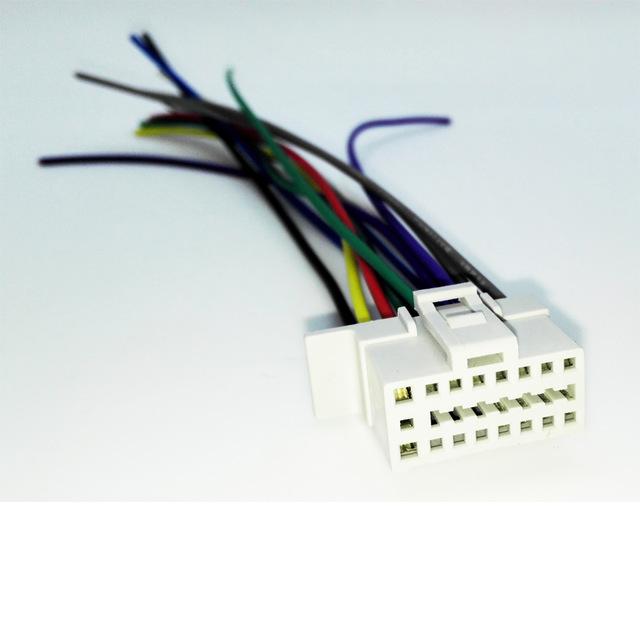 hr wiring harness ro 3191  panasonic wiring harness carstereo 16 pin wire connector  panasonic wiring harness carstereo 16