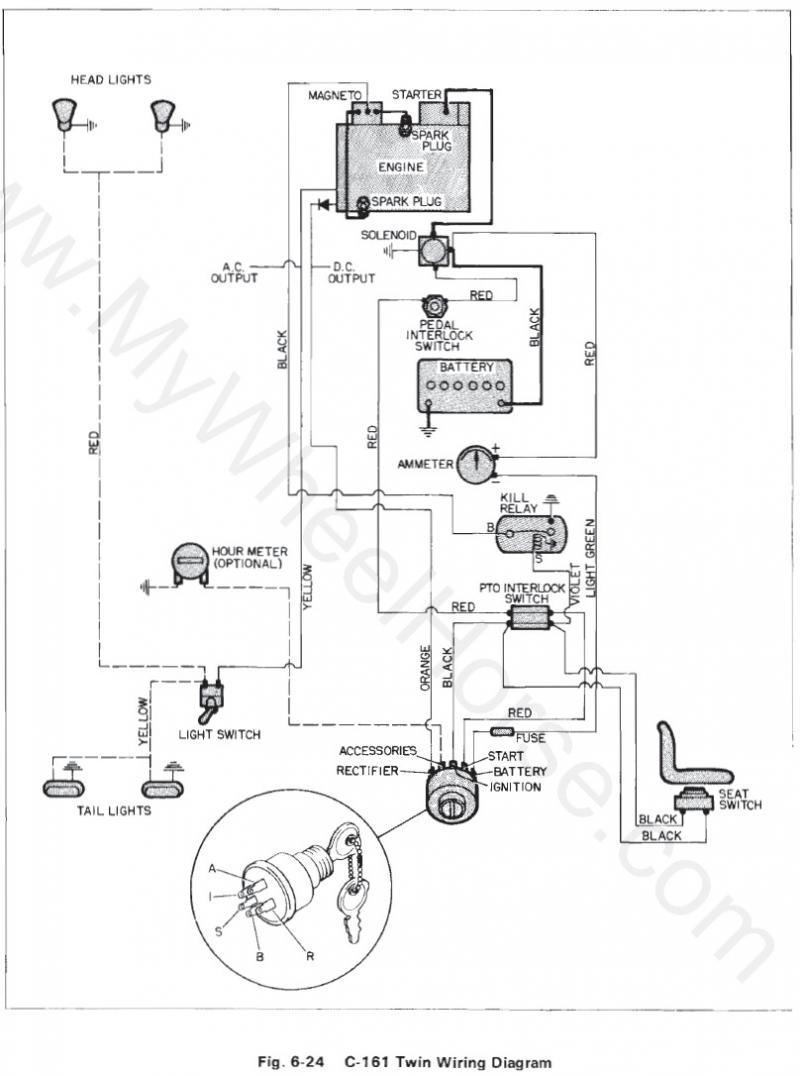 Wheel Horse Manuals Wiring Diagrams