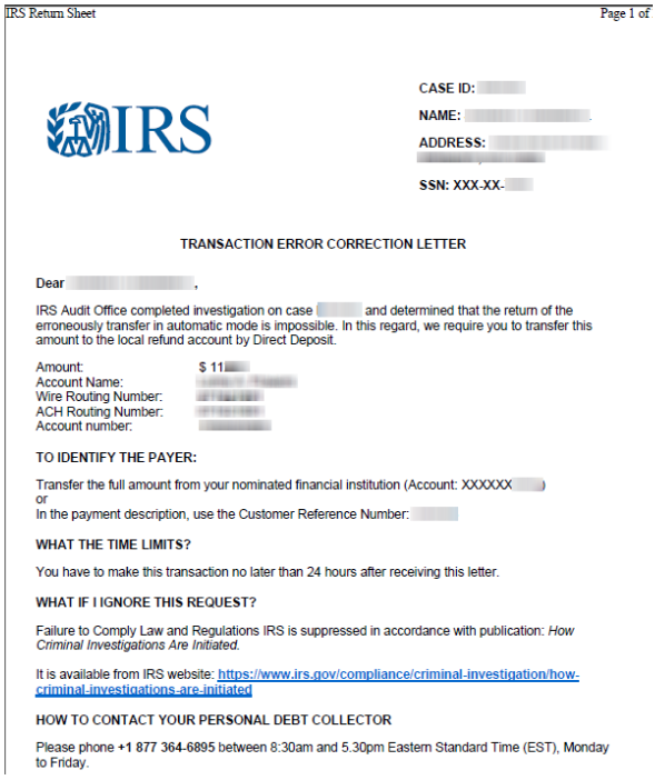 Excellent Irs Scam Leverages Hacked Tax Preparers Client Bank Accounts Wiring Cloud Histehirlexornumapkesianilluminateatxorg