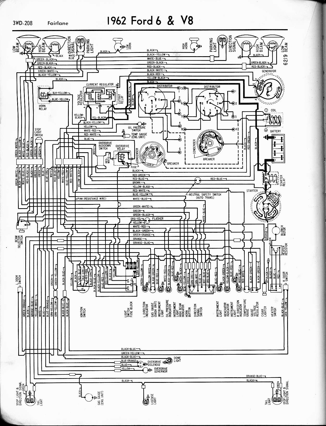 1979 Ford Thunderbird Engine Wiring Diagram Wiring Diagram Circuit Area B Circuit Area B Antichitagrandtour It