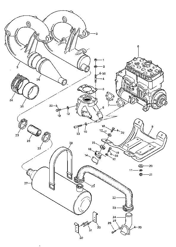 bombardier engine diagram fm 2523  seadoo 951 engine diagram  fm 2523  seadoo 951 engine diagram