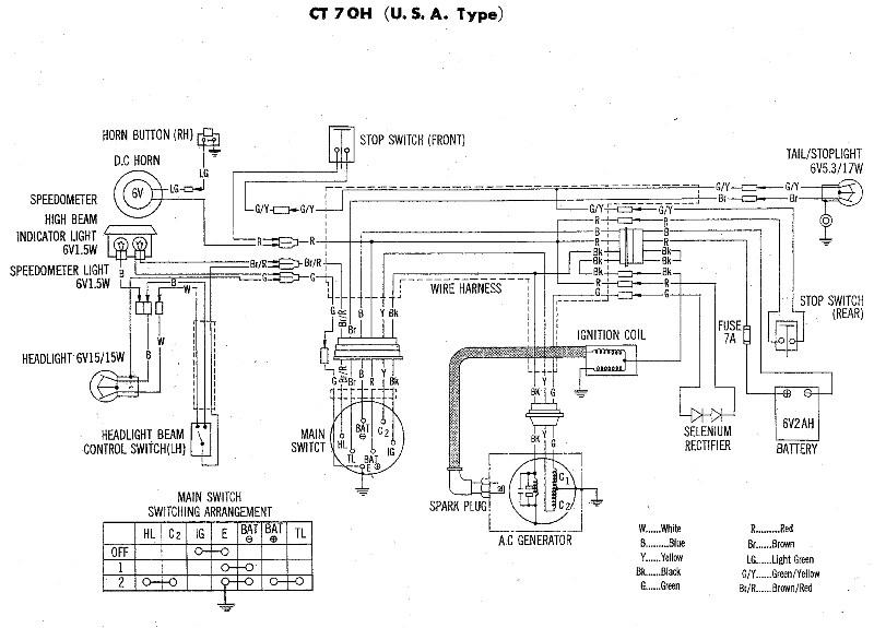 1968 Ct90 Wiring Diagram 8 Wire Thermostat Wiring Diagram Duramaxxx Pas Sayange Jeanjaures37 Fr