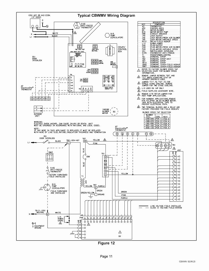 trane wiring diagram xb1000
