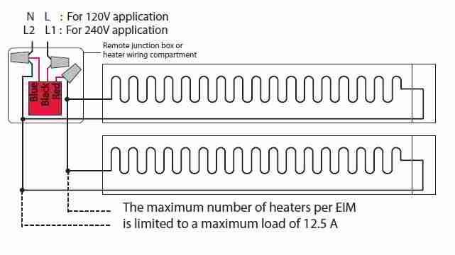 Cadet 240v Baseboard Heater Wiring Diagram - Wiring Diagram