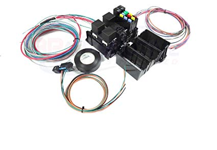 Fantastic Amazon Com Michigan Motorsports Ls Swap Wire Harness Fuse Block Wiring Cloud Biosomenaidewilluminateatxorg