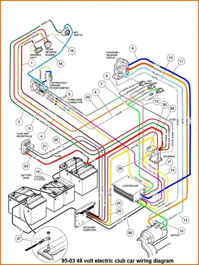 95 Ezgo Wiring Diagram Data Wiring Diagram