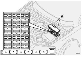 EL_6628] 2001 Volvo V70 Xc 5Cyl Trunk Fuse Box Diagram Download Diagram