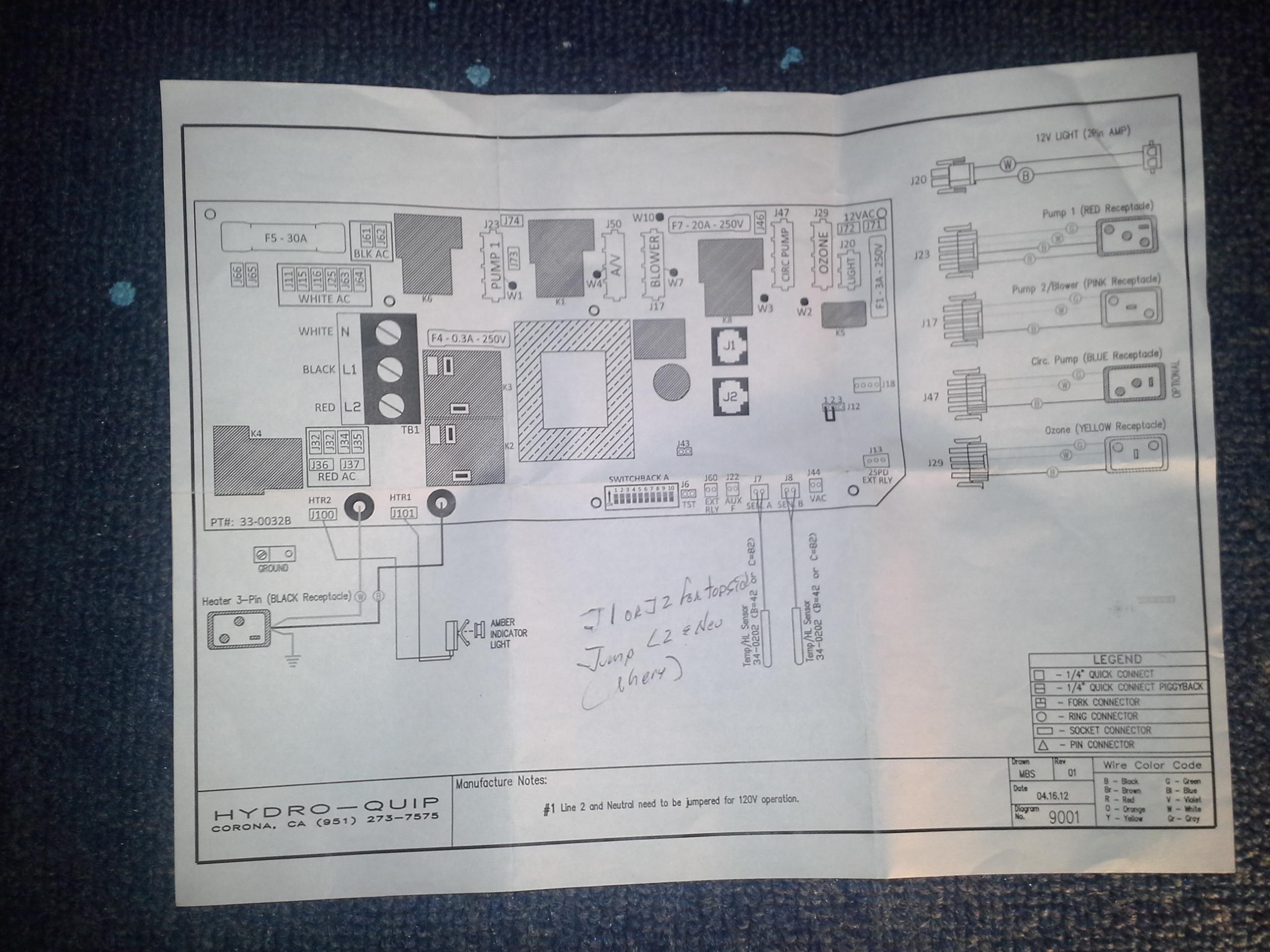 Hydro Quip Wiring Diagram