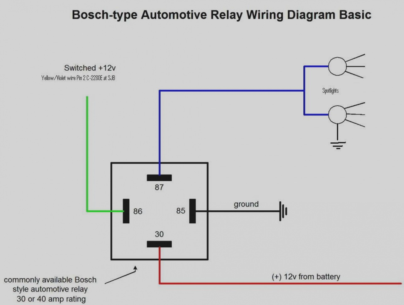 basic relay wiring diagram nk 9889  basic 12v relay wiring free diagram  basic 12v relay wiring free diagram