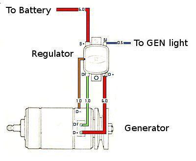 Admirable 12 Volt Generator Wiring Diagram Vw Online Wiring Diagram Wiring Cloud Onicaalyptbenolwigegmohammedshrineorg