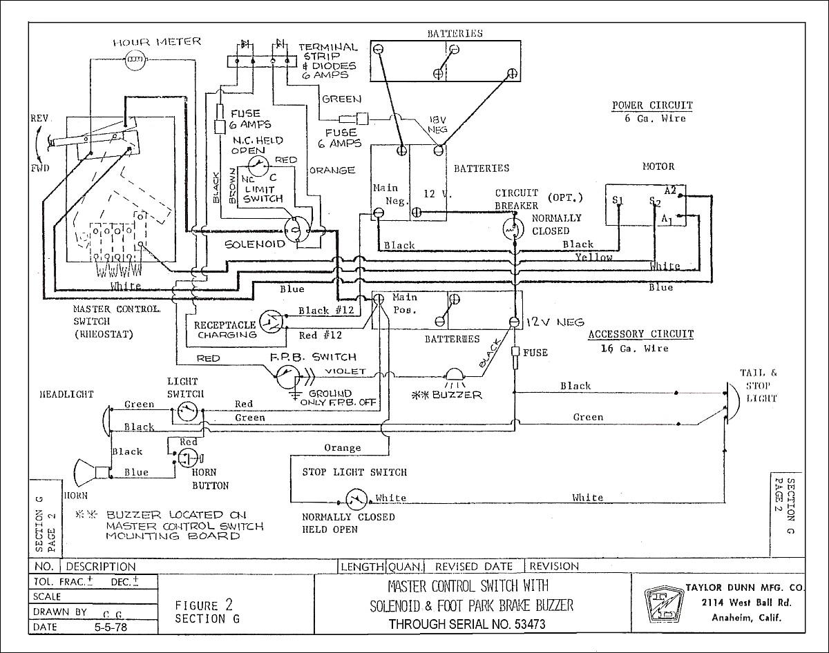Taylor Dunn Wiring Diagram Pdf
