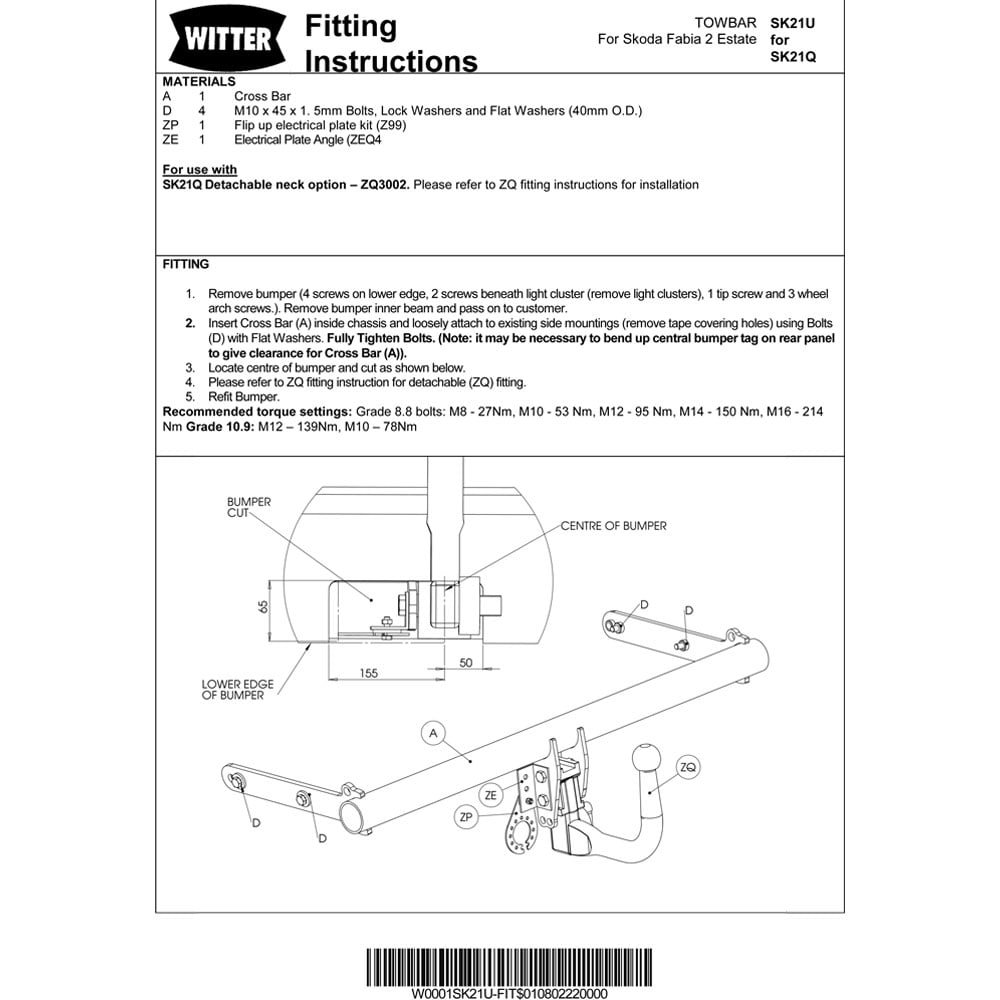 Ford Mondeo Estate Towbar Wiring Diagram