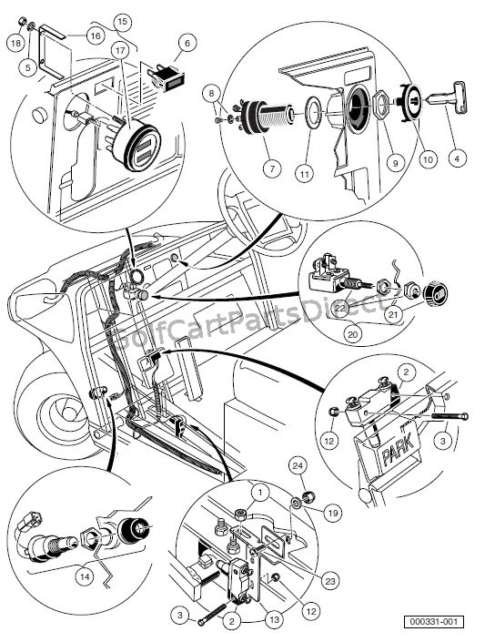 ab5122 club car carry all 2 wiring diagram furthermore