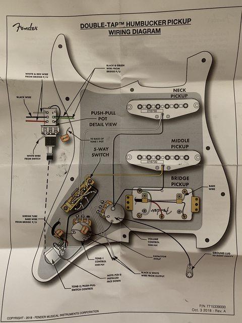 Te 3913  Fender American Standard Stratocaster Wiring