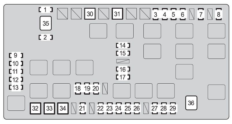 [ZTBE_9966]  ZZ_8576] Land Cruiser Fuse Box Schematic Wiring | 2007 Toyota Fj Cruiser Fuse Box |  | Stre Menur Recoveryedb Librar Wiring 101