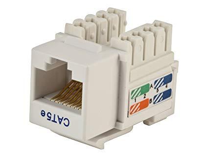 Yt 6242 Modular Jacks Rj45 Keystone In Addition Phone Jack Wiring Diagram In Schematic Wiring