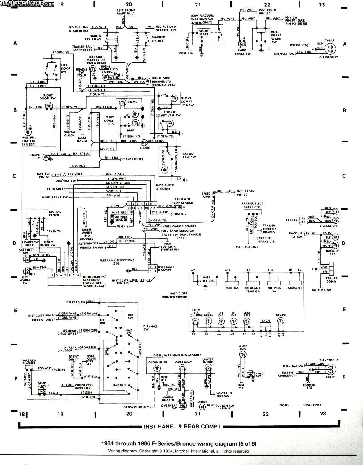 1995 ford f250 starter solenoid wiring diagram - database