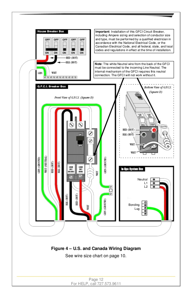 AD_2684] 60Amp Gfci Wiring Diagram Spa Schematic Wiring