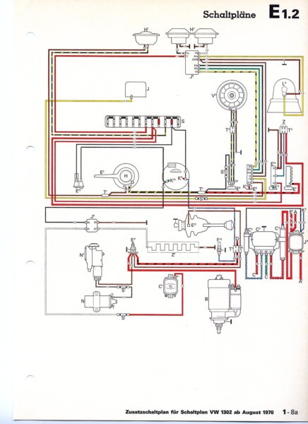 1970 vw beetle voltage regulator wiring diagram  pontiac 3
