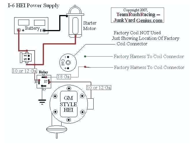 Astounding Accel Coil Wiring Diagram Ignition Wiring Diagram Accel Hei Super Wiring Cloud Timewinrebemohammedshrineorg