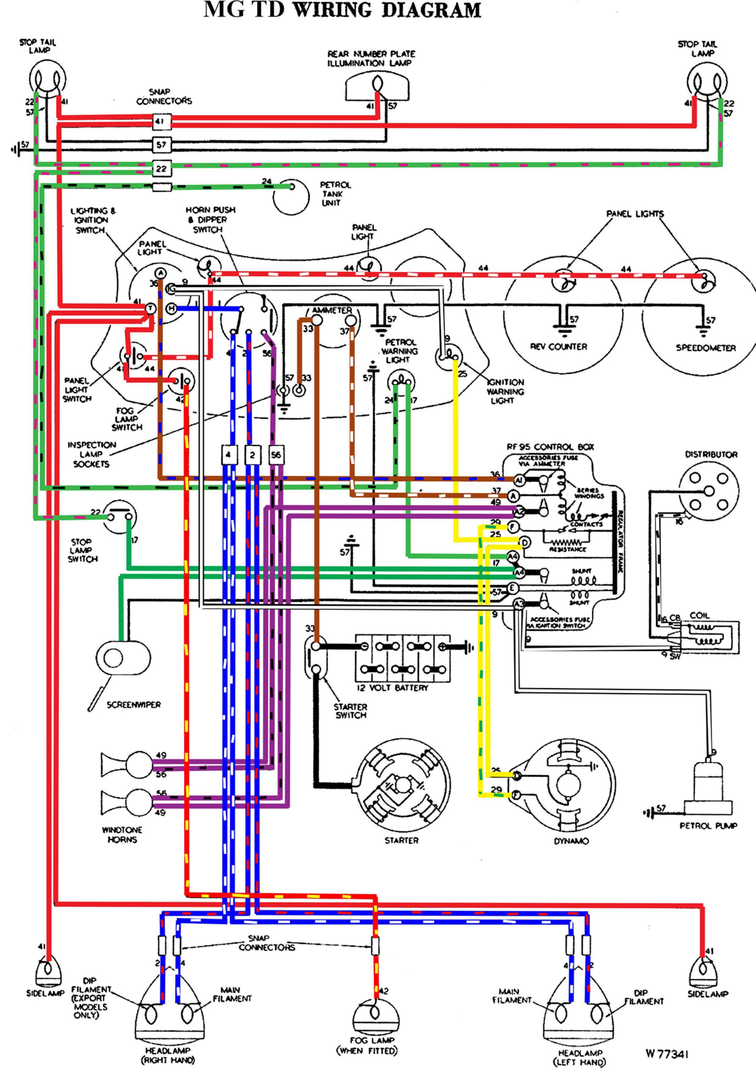 austin healey sprite wiring diagram 25f5f mg tc wiring diagram wiring resources  25f5f mg tc wiring diagram wiring