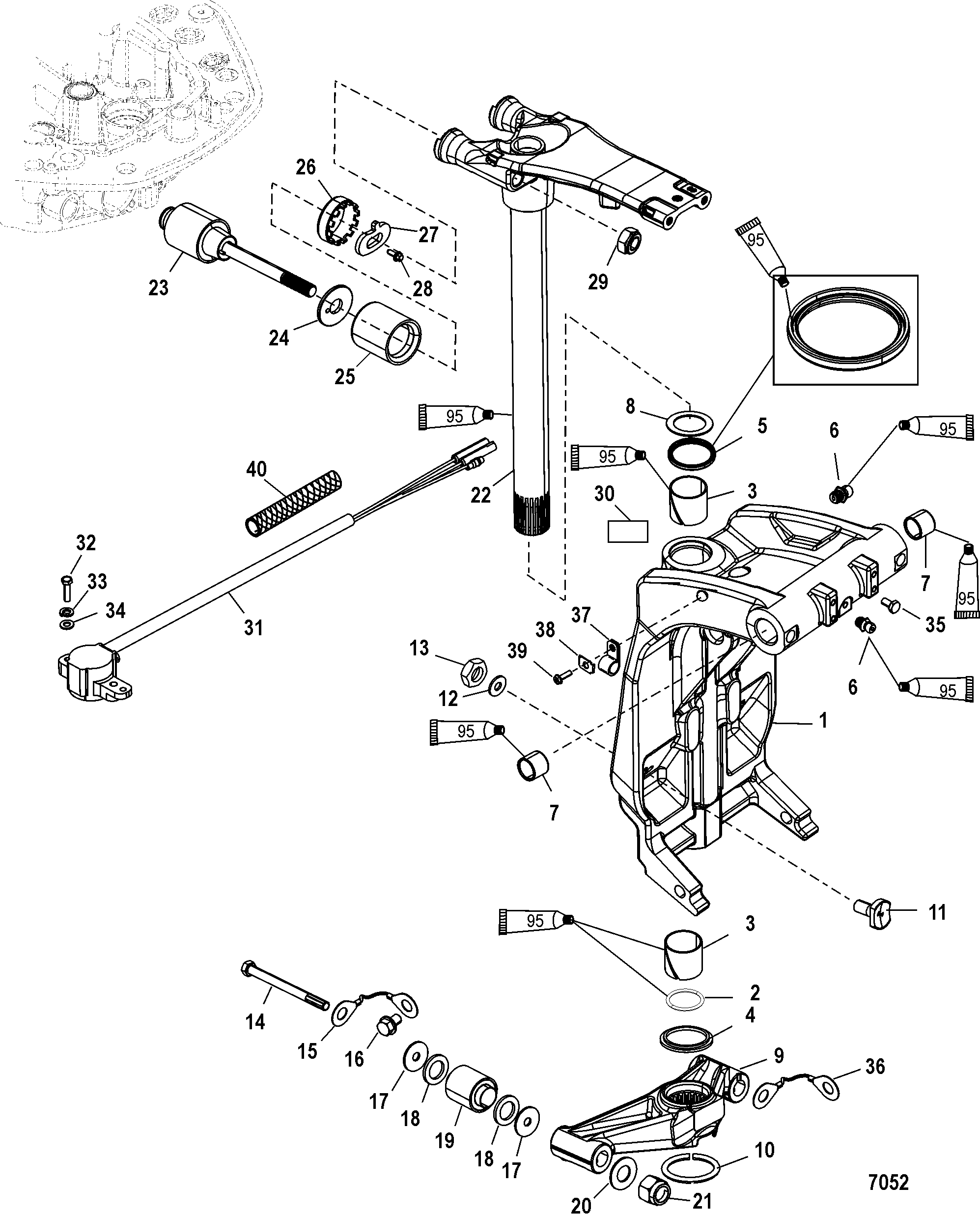 Aw 3191  Outboard Water Pump Diagram On 110 Johnson
