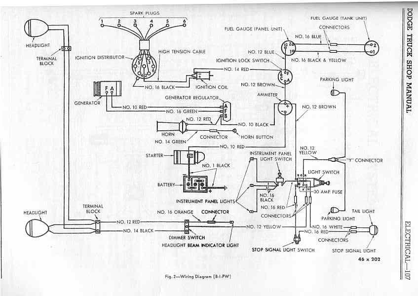 [SCHEMATICS_48ZD]  1953 Dodge Truck Wiring Harness - Wiring Diagram 2 Humbucker Volume 1 Tone  for Wiring Diagram Schematics | Vintage Dodge Truck Wiring Harnesses |  | Wiring Diagram Schematics