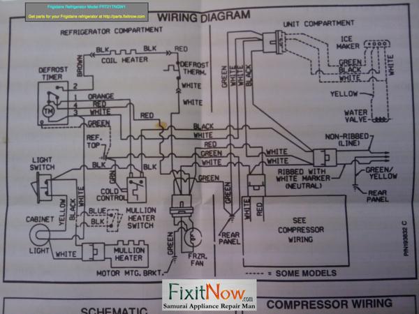 frigidaire valve wiring diagram nm 5402  fridgedarie refrigerator compressor wiring diagram  refrigerator compressor wiring diagram