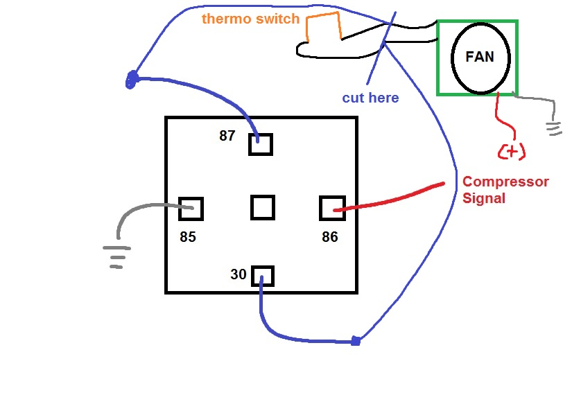 condenser fan wiring diagram for hvac  options indexes