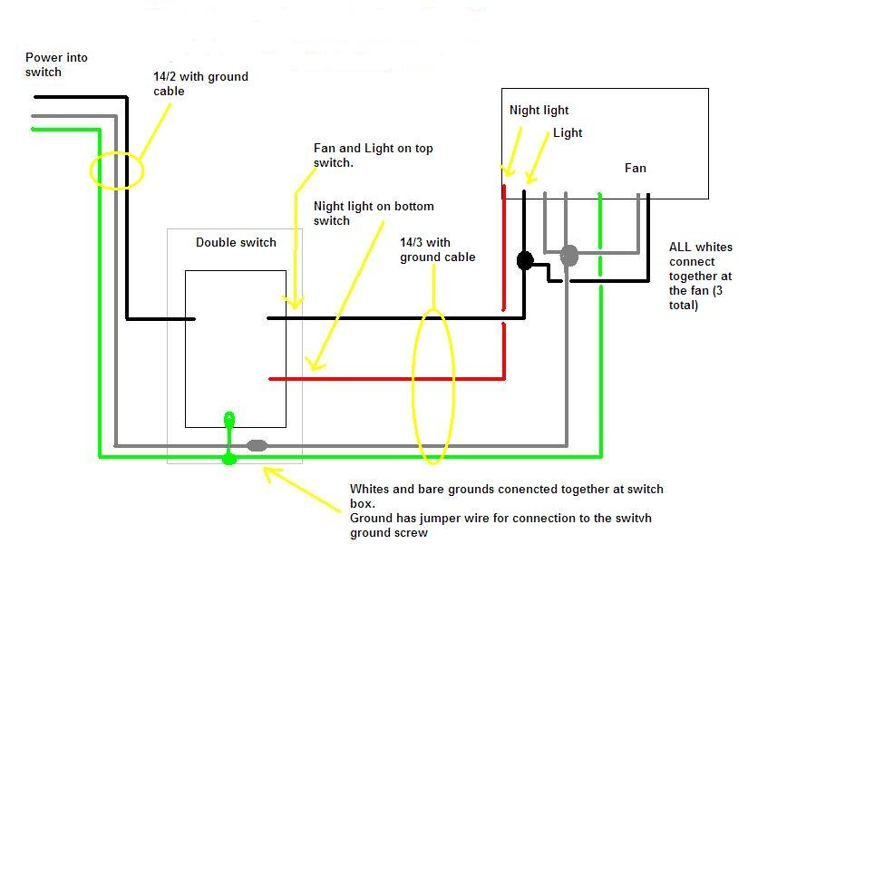Incredible I Have A Broan Qtxe110Flt Fan I Need A Simple Diagram On How To Wire Wiring Cloud Ymoonsalvmohammedshrineorg