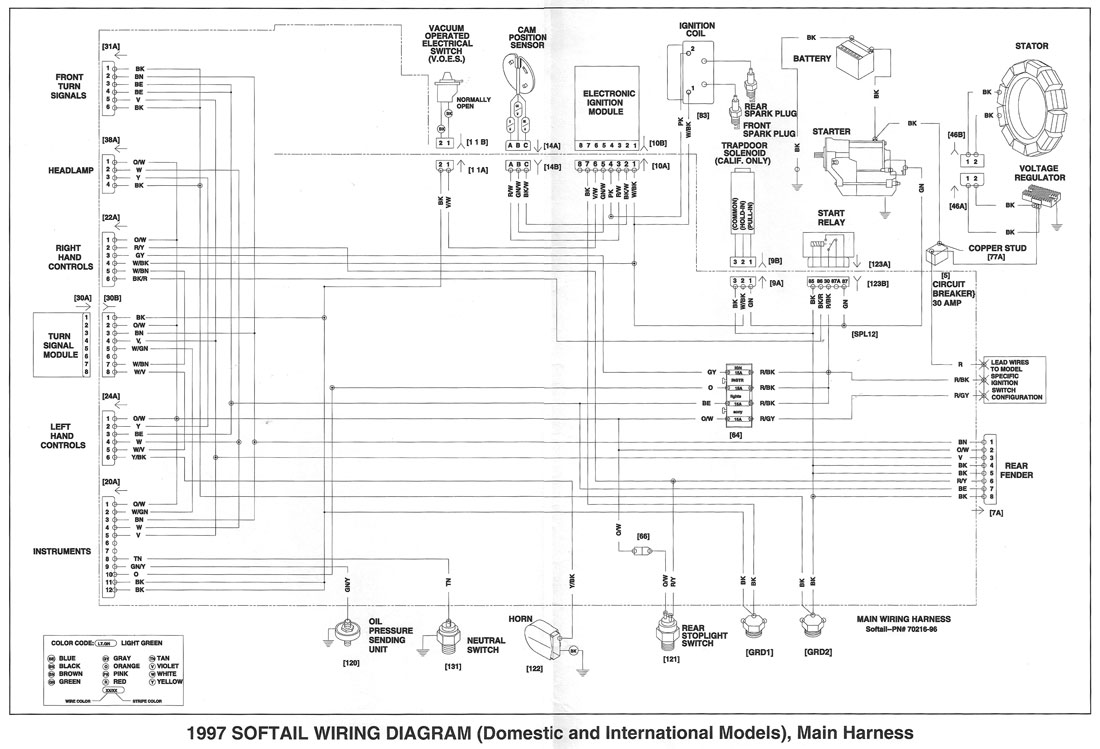 1997 Harley Fxst Wiring Diagram Wiring Diagram Log Bell Build A Bell Build A Superpolobio It