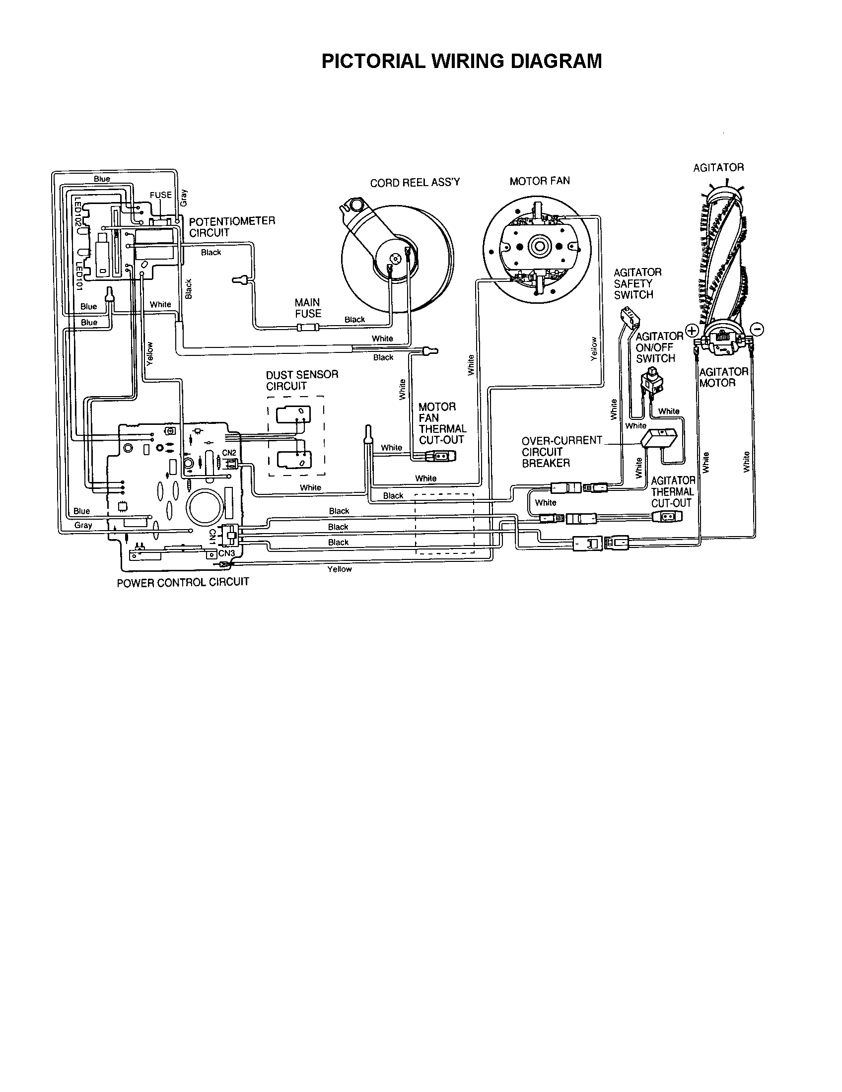 shop vac for on and off switch wiring diagram ta 7671  shop vac motor diagram motor repalcement parts and  motor diagram motor repalcement parts