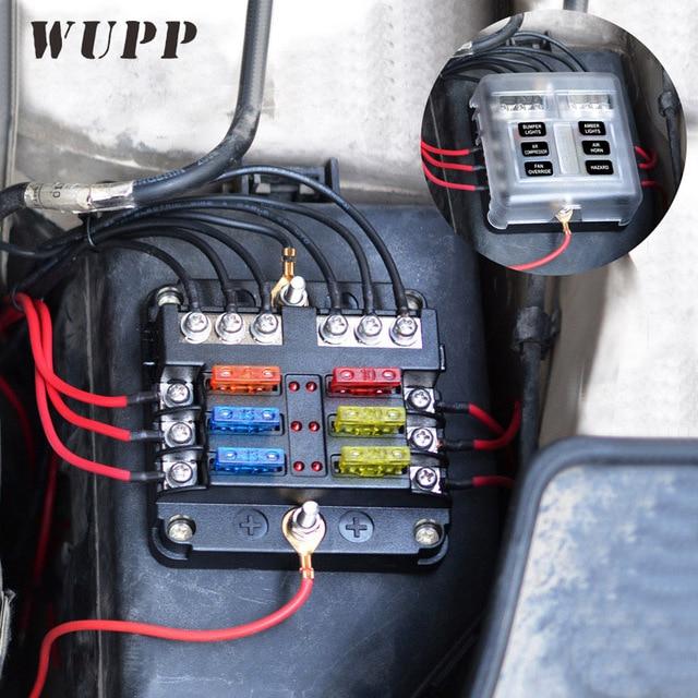 Enjoyable Wupp Independent Car Fuse Holder Pbt Pc Fuse Box Fog Lights Car Wiring Cloud Hisonepsysticxongrecoveryedborg