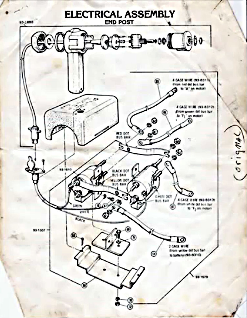 Mh 6112 2 Post Winch Wiring Diagram Schematic Wiring
