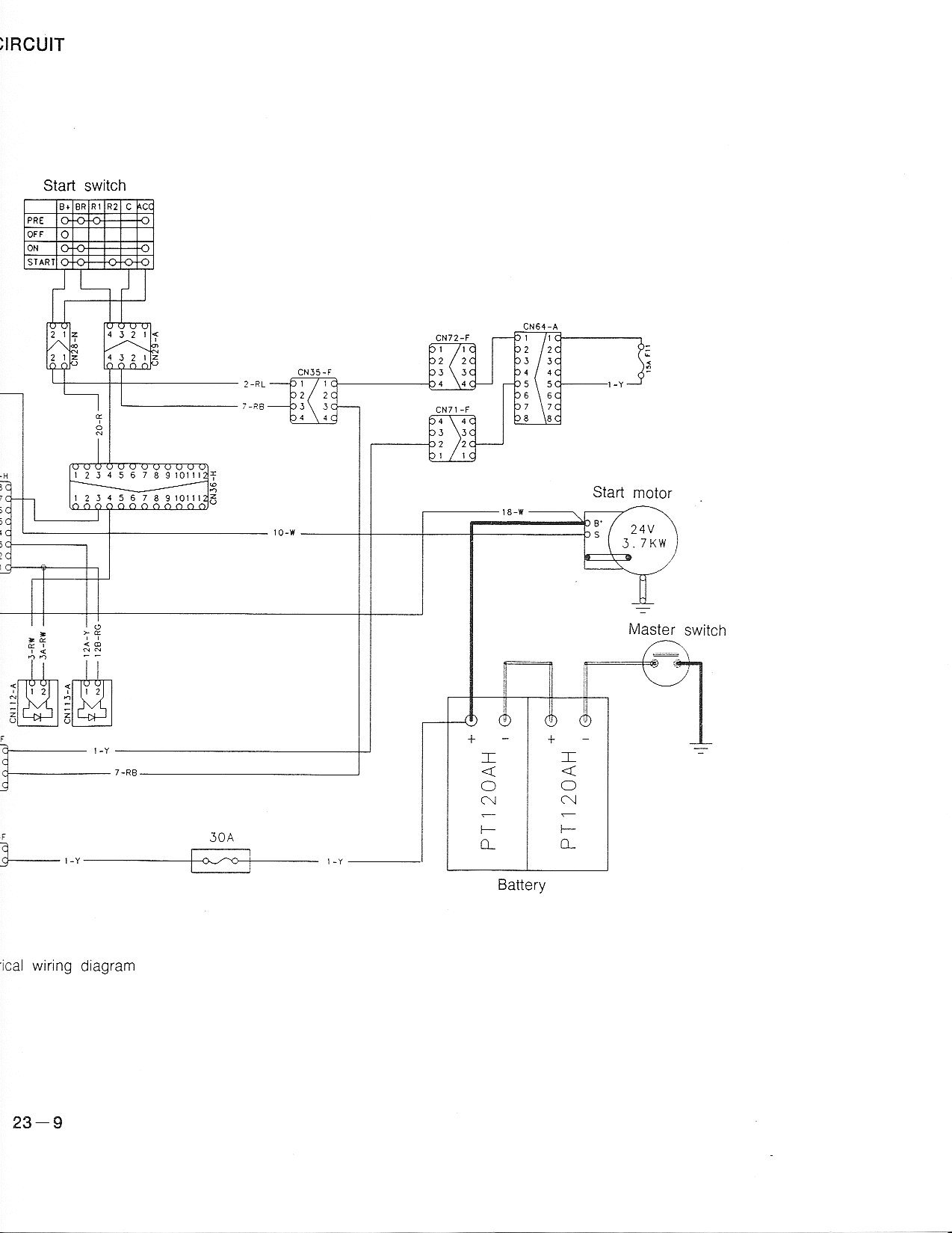 Case Excavator Wiring Diagrams 5