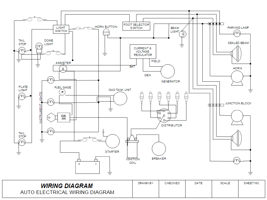 Pleasant How To Draw Electrical Diagrams And Wiring Diagrams Wiring Cloud Lukepaidewilluminateatxorg