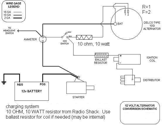 12 Volt Delco Alternator Wiring Diagram 3 Wire Delco Alternator With Regulator Wiring Diagram 7gen Nissaan Cukk Jeanjaures37 Fr