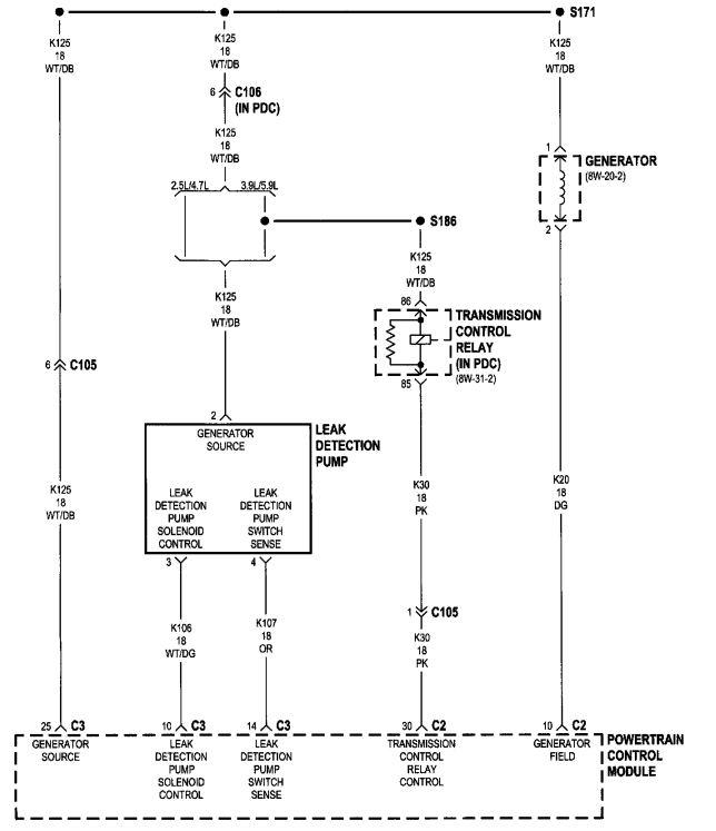 dodge dakota alternator wiring  lennox package unit wiring