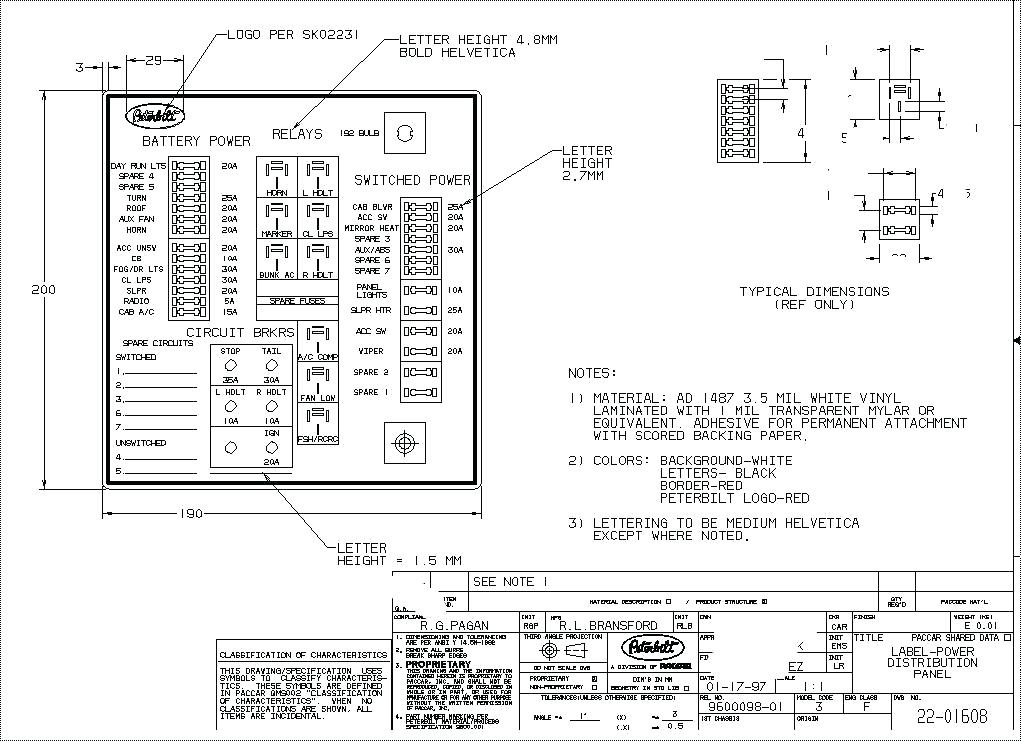 1996 mack fuse box diagram wd 4225  mack fuse panel diagram 2001 schematic wiring  mack fuse panel diagram 2001 schematic