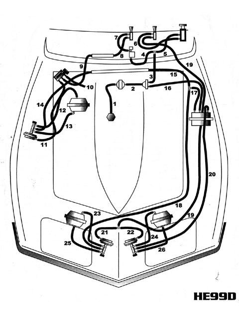 Sy 5737  Corvette Brake Light Switch On 70 Corvette