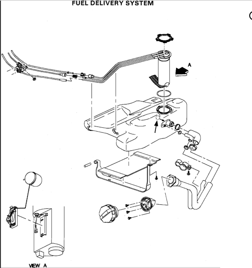 Ch 2001  Wiring Diagram To Fuel Pump Further Mercedes