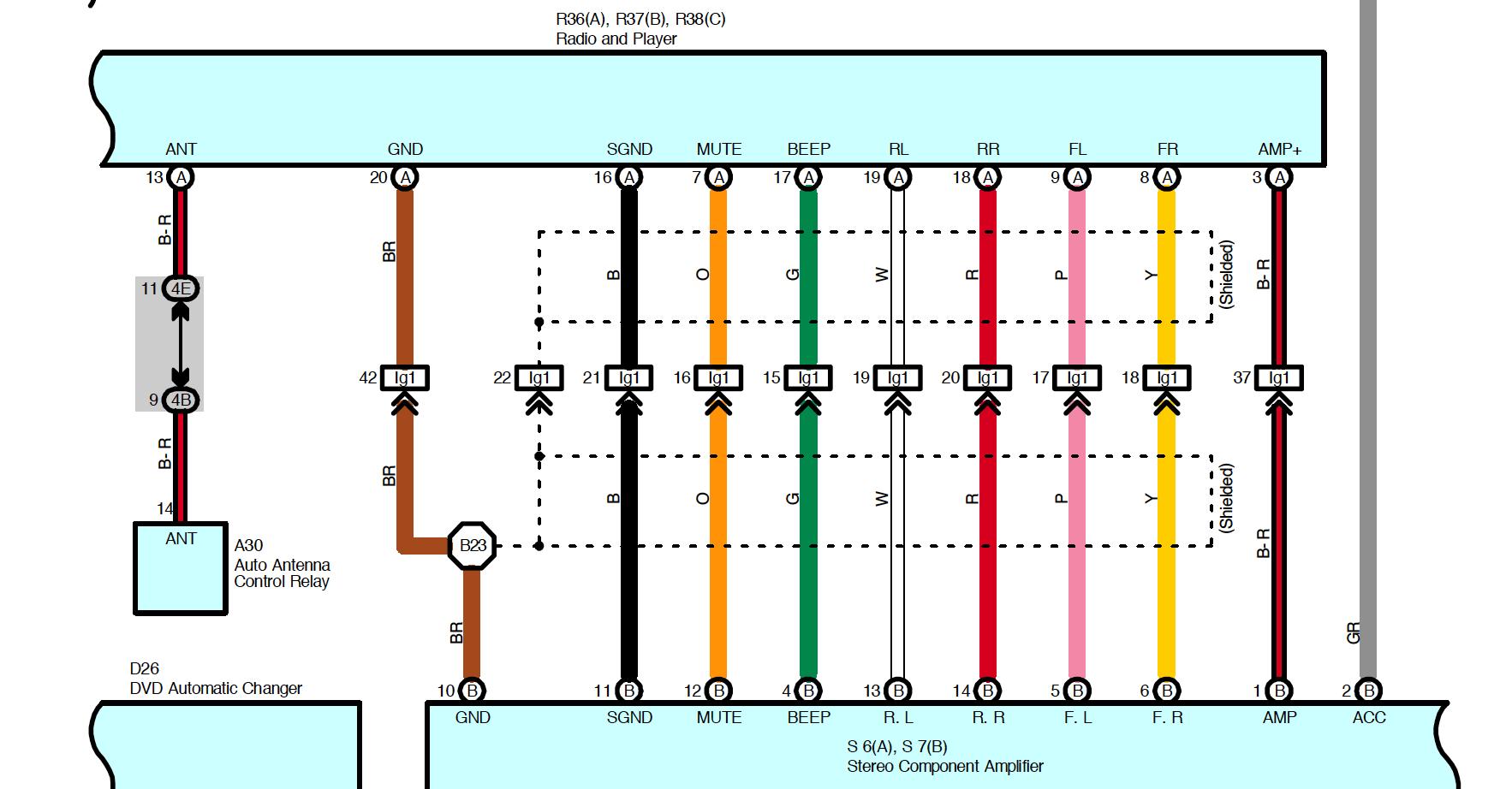Toyota Landcruiser 80 Series Stereo Wiring Diagram