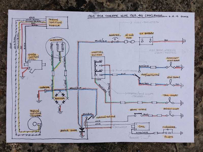 Rm 2988  Wiring Diagram For Triumph Bsa With Boyer