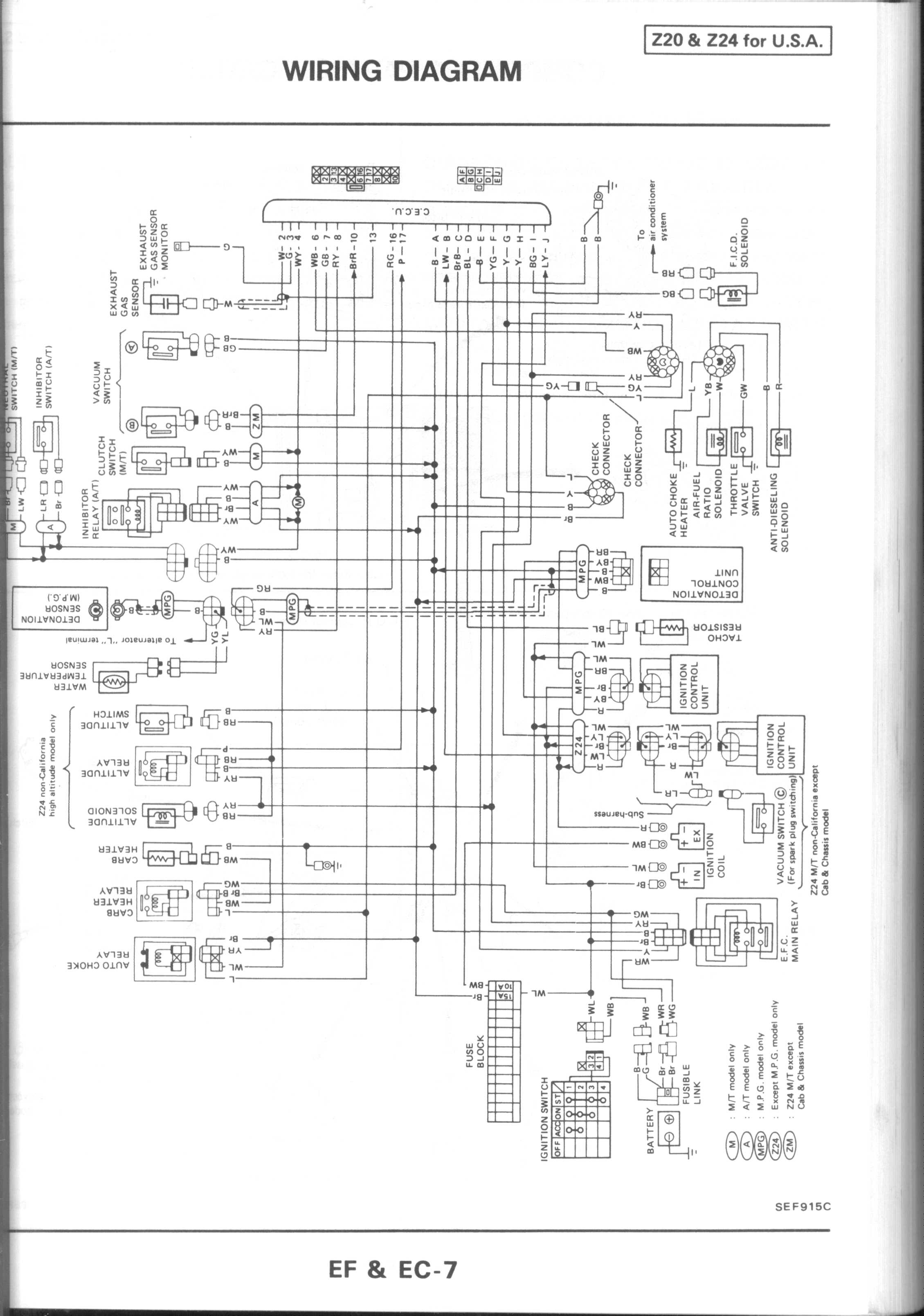 Terrific 2001 Nissan Engine Diagram Basic Electronics Wiring Diagram Wiring Cloud Cranvenetmohammedshrineorg