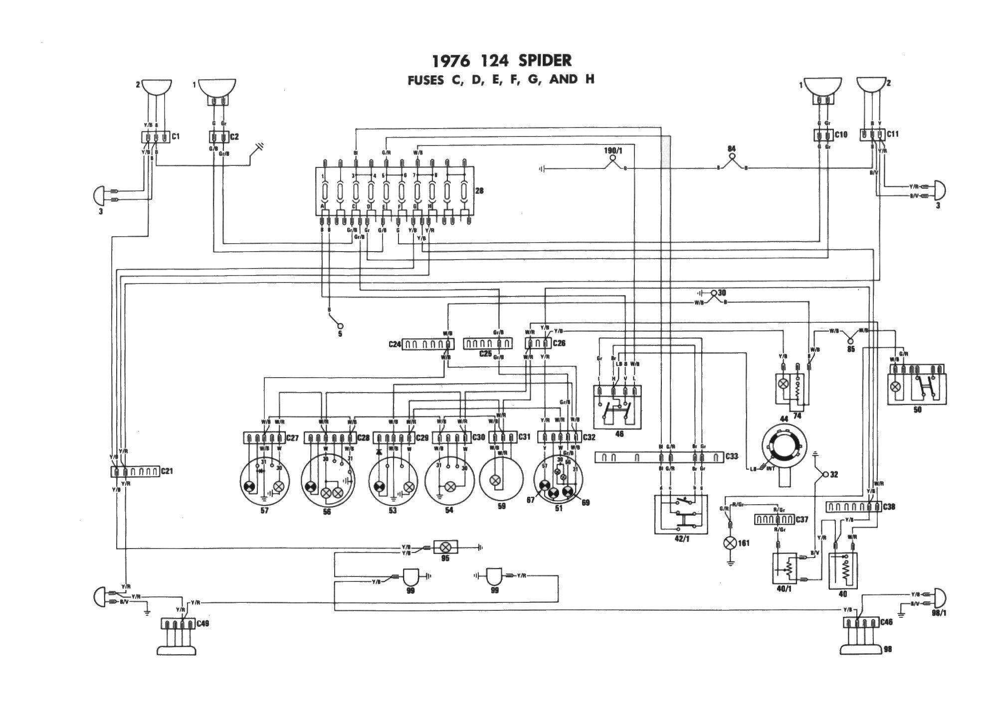 Enjoyable Diagram For 1978 Alfa Romeo 2000 Spider Veloce The Alfa Romeo Spider Wiring Cloud Filiciilluminateatxorg